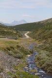 Arroyo en las montañas Fotografía de archivo libre de regalías