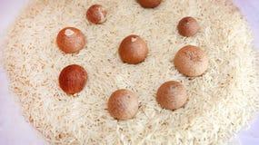 Arroz, alimento Fotos de Stock Royalty Free