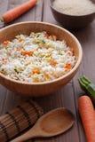 Arroz Basmati com veggies Imagem de Stock