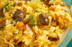 Arroz chino colombiana Royalty Free Stock Photography