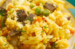 Arroz chino colombiana Stock Photography