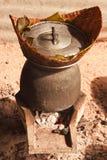 Arroz cocido al vapor Fotografía de archivo libre de regalías