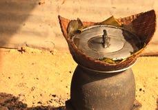 Arroz cocido al vapor Fotografía de archivo