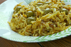 Arroz con gandules Royalty Free Stock Image
