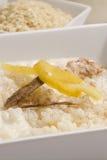 arroz con leche ρύζι πουτίγκας Στοκ εικόνα με δικαίωμα ελεύθερης χρήσης