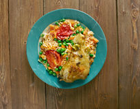 Arroz con pollo a la mexicana Stock Images