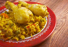 Arroz con Pollo Royalty Free Stock Images