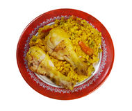 Arroz con Pollo Royalty Free Stock Image