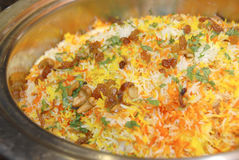 Arroz de Biryani fotos de stock royalty free