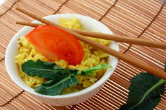 Arroz de curry imagen de archivo