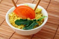 Arroz de curry imagen de archivo libre de regalías