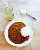 Arroz de curry japonés Foto de archivo libre de regalías