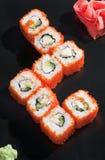 Arroz de sushi japonés Foto de archivo