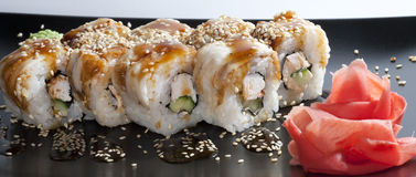 Arroz de sushi japonés Imagen de archivo libre de regalías