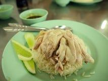 Arroz del pollo Imagenes de archivo