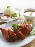 Arroz del pollo de Asia Imagen de archivo libre de regalías