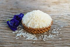 arroz do jasmim Fotografia de Stock