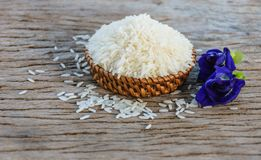 arroz do jasmim Fotografia de Stock Royalty Free