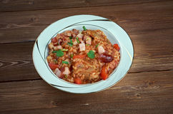 Arroz do vermelho de Charleston Fotografia de Stock Royalty Free