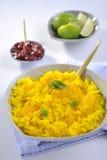 arroz doce delicioso com fruto Fotos de Stock Royalty Free