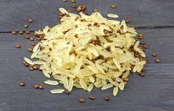 Arroz e quinoa Fotos de Stock