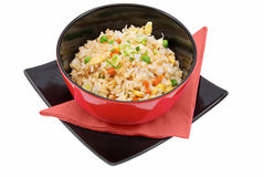 Arroz e vegetais Imagem de Stock Royalty Free
