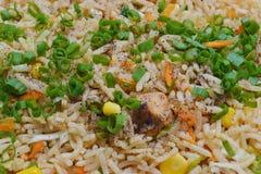 arroz fritado Imagem de Stock