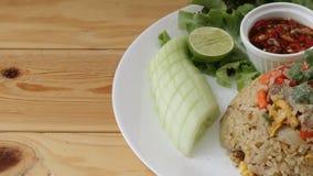 Arroz fritado tailandês Imagem de Stock