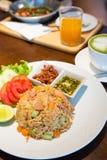 Arroz fritado tailandês Imagens de Stock Royalty Free