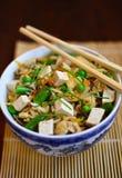 Arroz frito Cacerola-asiático Fotografía de archivo