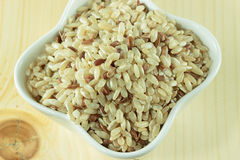 Arroz integral Foto de Stock Royalty Free