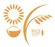 arroz jogo ilustração royalty free
