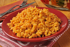 Arroz mexicano Fotos de Stock Royalty Free