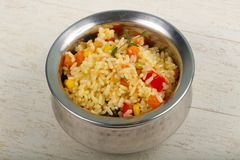 Arroz mexicano foto de stock royalty free