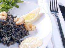 Arroz Negro – Black Rice Stock Images
