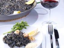 Arroz Negro – Black Rice Royalty Free Stock Photos
