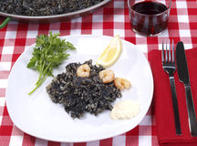 Arroz Negro – Black Rice Royalty Free Stock Images