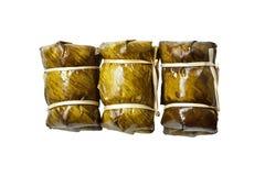 Arroz pegajoso da sobremesa tailandesa Foto de Stock