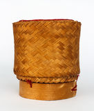 Arroz pegajoso de bambu de vime Imagem de Stock Royalty Free