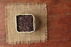 Arroz riceberry determinado del fondo Imágenes de archivo libres de regalías