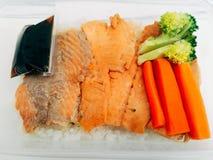 Arroz Salmon de japão Foto de Stock