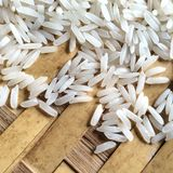 Arrozes do jasmim de Tailândia Imagens de Stock