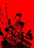 Arrêtez la guerre Image libre de droits