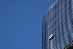 Arruela de janela Skyscrapper Foto de Stock