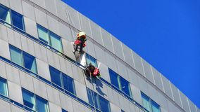 Arruela no arranha-céus em Varsóvia imagem de stock royalty free
