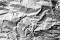 Arrugado encima de la textura de papel Imagen de archivo libre de regalías