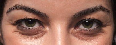 Arrugas del ojo Fotografía de archivo libre de regalías