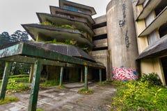 Arruine el hotel abandonado en la isla del sao Miguel Fotos de archivo