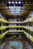 Arruine el hotel abandonado en la isla del sao Miguel Fotografía de archivo