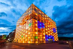 Free Ars Electronica Center, Linz Stock Image - 114077091